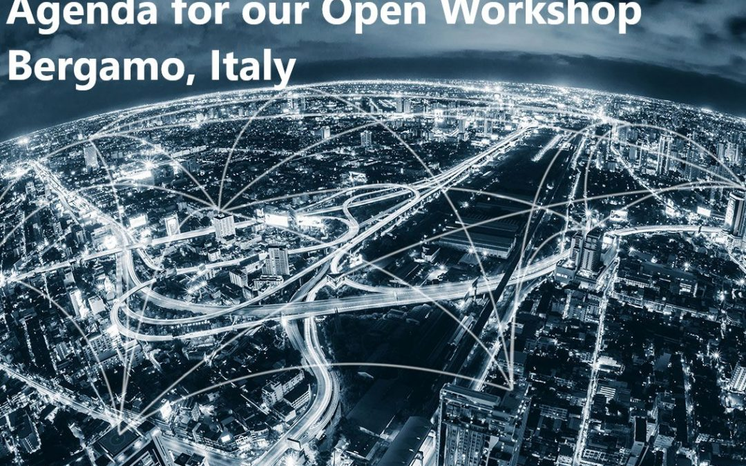 Agenda for our Open Workshop