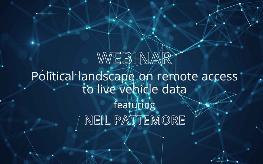 Web-Seminar on remote access to live vehicle data