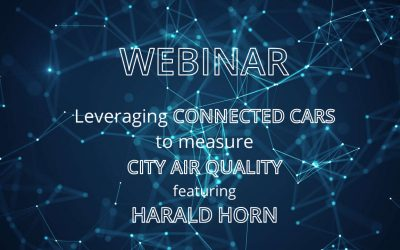 Web-Seminar – Leveraging Connected Cars to measure City Air Quality