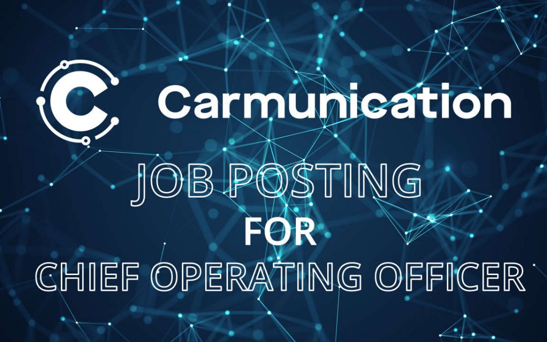 Job posting for COO